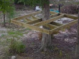 How to make a simple treehouse. Hope Grandma can make this! My grandkid  needs a tree house.