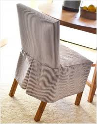 diy tutorial diy dining chair slipcovers diy build a easiest parson chair slipcovers bead cord