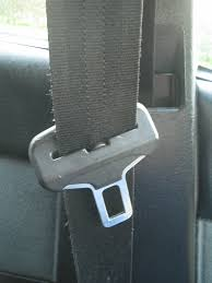 a seat belt and buckle