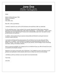 Letters Email Cover Letter Email Cover Letter And Resume Attached