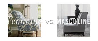 masculine furniture. Thomasville Home FurnishingsFeminine Vs. Masculine Furniture \u2014 Is There Really A Difference? - Furnishings I