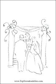 Jewish Coloring Pages Free Printable Religious Wedding Coloring