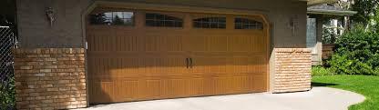 16x8 garage doorGarage Doors  Fiberglass Garage Door 7ft Sonoma Redoak