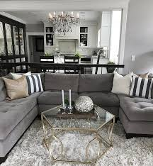 Black wooden furniture with the grey sofa? Light walls, plants, big windows  and colourful cushions/paintings? Find this Pin and more on Living Room  Ideas ...