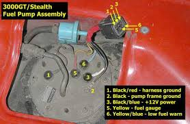 stealth 316 fuel pump re wire fuel pump assembly pic 2
