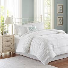madison park isabella 5 piece white california king comforter set