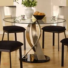 modern round glass dining tables 6 inspirational in table for idea 8