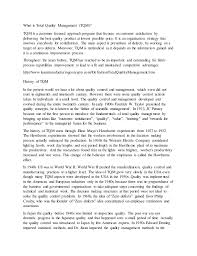quality management essay 2 what is total quality management