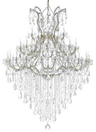 large foyer entryway maria theresa empress crystal gold chandelier
