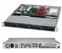 «<b>Серверный корпус</b> 1U <b>Supermicro</b> CSE-813MTQ-350CB 350 Вт ...