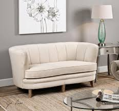 Living Room: Small Curved Couch - 2 - Small Curved Leather Sectional