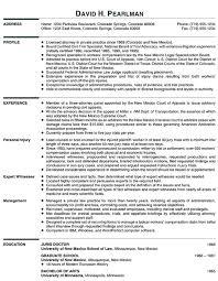 Principal Attorney Resume Example