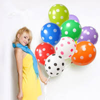 White Balloons Red Polka Dots Reviews