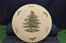 Lovely Spode Christmas Tree Cake Plate/Platter S3324 Made In England RD6907