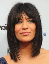 Image Coiffure Cheveux Long Avec Frange Coupe De Cheveux