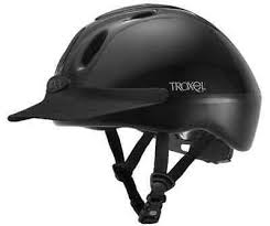 Troxel Spirit Black Adjustable Safety Horse Riding Training Gps Dial Fit Helmet Ebay