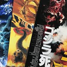 something a bit diffe today i recently purchased some theater flyers for various zilla s