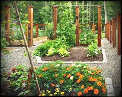 rustic garden fence ideas the great