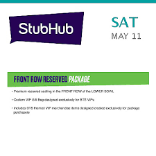 Stubhub Soldier Field Seating Chart Bts Vip Packages Tickets Chicago 2 145 22 Picclick