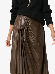 faux leather skirt to enlarge