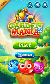 Small Picture Garden Mania 2 by Ezjoy Splash Screen Match 3 Game iOS Game