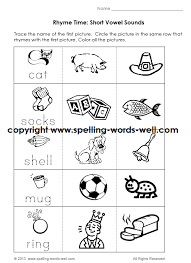 Printable phonics worksheets for kids. Kindergarten Phonics Worksheets