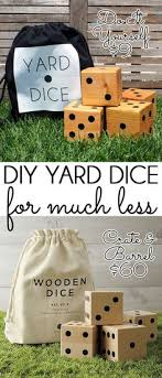Wooden Yard Games diy with style Summer Fun with DIY Wooden Yard Dice Summer fun 87