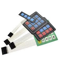 Matrix <b>Keyboard</b> For Arduino 1x4 <b>3X4 4X4</b> 4x5 Array Keypad ...