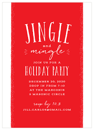 Christmas Dinner Invitation Templates 2019 Holiday Party Invitations Match Your Color Style
