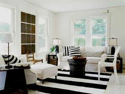 Striped Rug In Living Room Home Interior Dining Room Idea With Large Round Paper Hanging