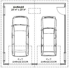 2 Car Garage Doors Sizes   Purobrand.co