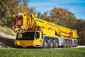 Liebherr Ltm 1650 8 1 Mobile Crane Delivers Top Load