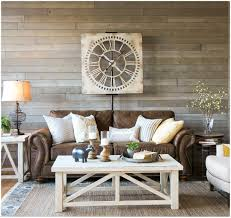 a farmhouse living room that will make you want a brown sofa black friday leather sofa