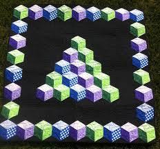 Baby Blocks, Marci Baker pattern, seen at Ormond Beach Quilts ... & Baby Blocks, Marci Baker pattern, seen at Ormond Beach Quilts Adamdwight.com