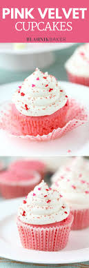 Pink Velvet Cupcakes A Classic Twist