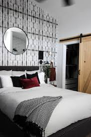 beautiful modern master bedrooms. A Beautiful Modern Master Bedroom Renovation Reveal! Gorgeous Bold Wallpaper, Black, White And Bedrooms