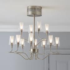 curtain wonderful brushed chrome chandelier 3 5052931474790 01i glamorous brushed chrome chandelier 30 acrux effect pendant