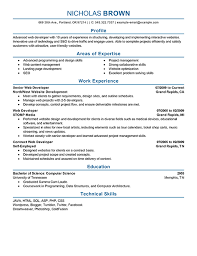 A great resume is key for success as a web developer. The resume examples  below are perfect way for developers and IT professionals to create their  own ...