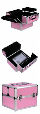 pink nail studio vanity case for your accessories and cosmetics nded nails