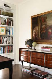 painting old furniturecredenza desk in Home Office Traditional with Big Wall Clock Ideas