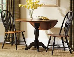drop leaf round pedestal kitchen table kitchen tables design regarding drop leaf pedestal table prepare