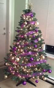 christmas trees decorated purple. Intended Christmas Trees Decorated Purple