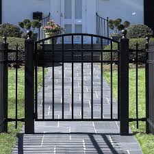 wrought iron garden gate and fencing made to mere from j f fabrications chesterfield