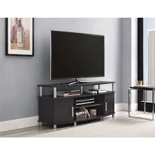 ameriwood carson tv stand in espresso  the home depot