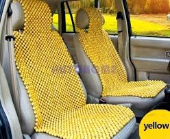 beaded auto seat covers 4 of 8 universal natural wooden beads car bead chair 1 set