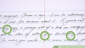 How To Practice Penmanship How To Improve Your Handwriting With Pictures Wikihow