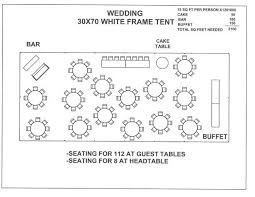 Tent Seating Chart 30 By 70 Tent Layout Google Search In 2019 Wedding Table