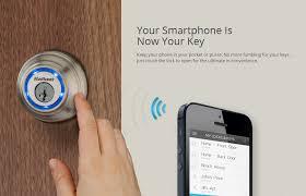 smart front door locksThe Kwikset Kevo BluetoothEnabled Door Lock Is Available For Pre