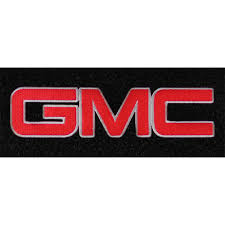 gmc logo black. lloyd mats front floor mat carpeted black with red gmc logo pair extended cabcrew gmc o