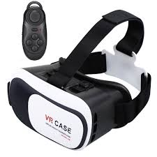 samsung virtual reality headset. virtual reality vr headset 3d glasses with remote for android ios iphone samsung | ebay